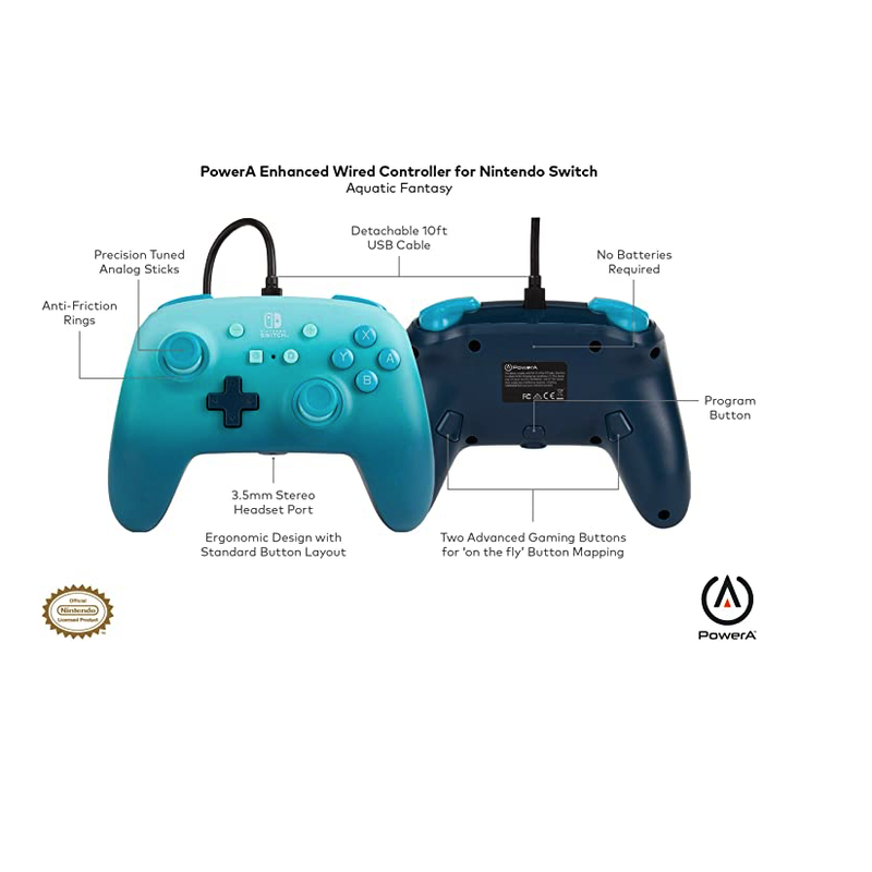 PowerA Enhanced Wired Controller for Nintendo Switch | Gaming Shop