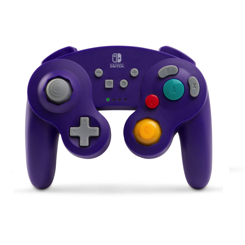 PowerA Wireless Controller for Nintendo Switch - GameCube Style Purple | Gaming Shop