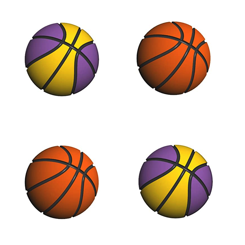 LeyuSmart Basketball Theme Thumb Grip Caps for Nintendo Switch & Switch Lite