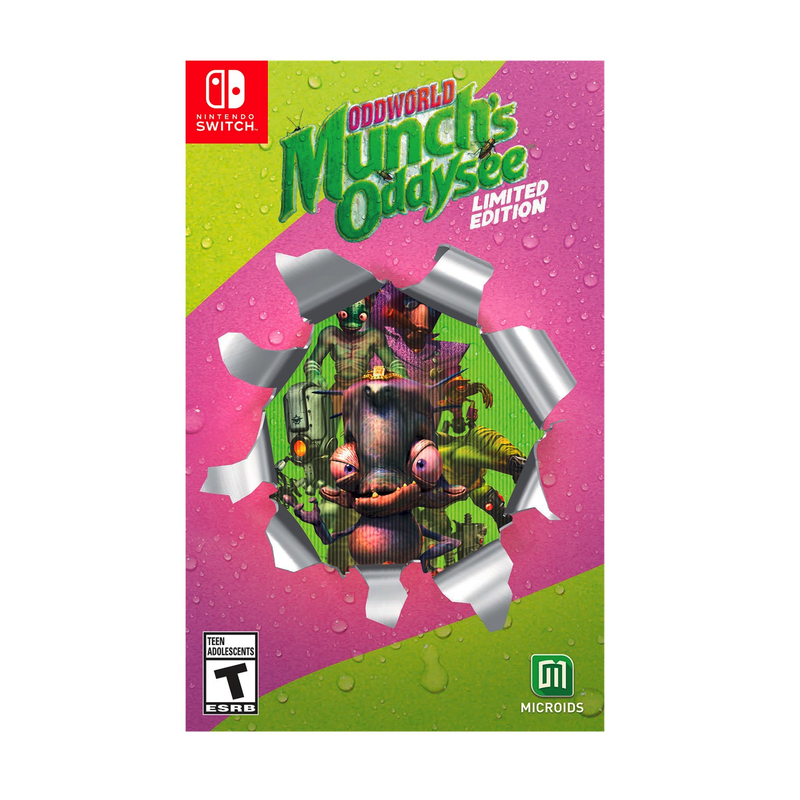 Oddworld Munchs Oddysee Limited Edition (Switch) | Gaming Shop