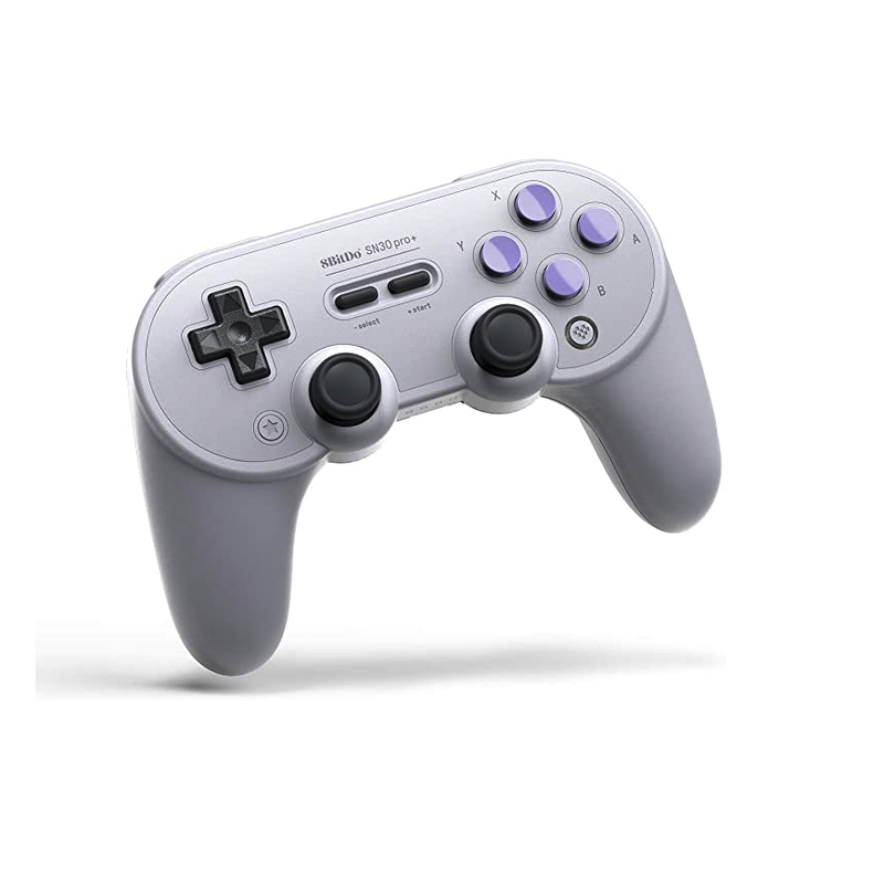 8Bitdo Sn30 Pro+ Bluetooth Gamepad (Sn Edition) - Nintendo Switch