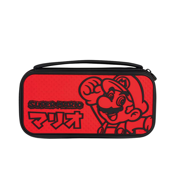 PDP Nintendo Switch Mario Kana Deluxe Slim Travel Case