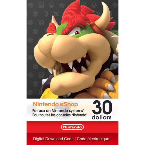 Nintendo eShop Digital Card $30 | Gaming Shop