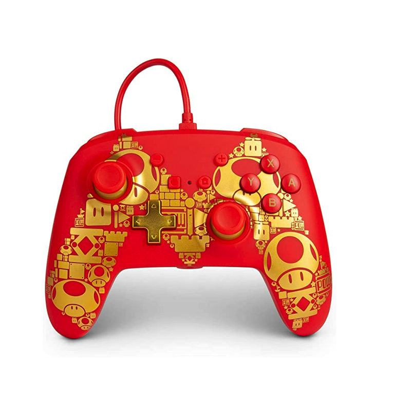 PowerA Enhanced Wired Controller for Nintendo Switch - Golden M