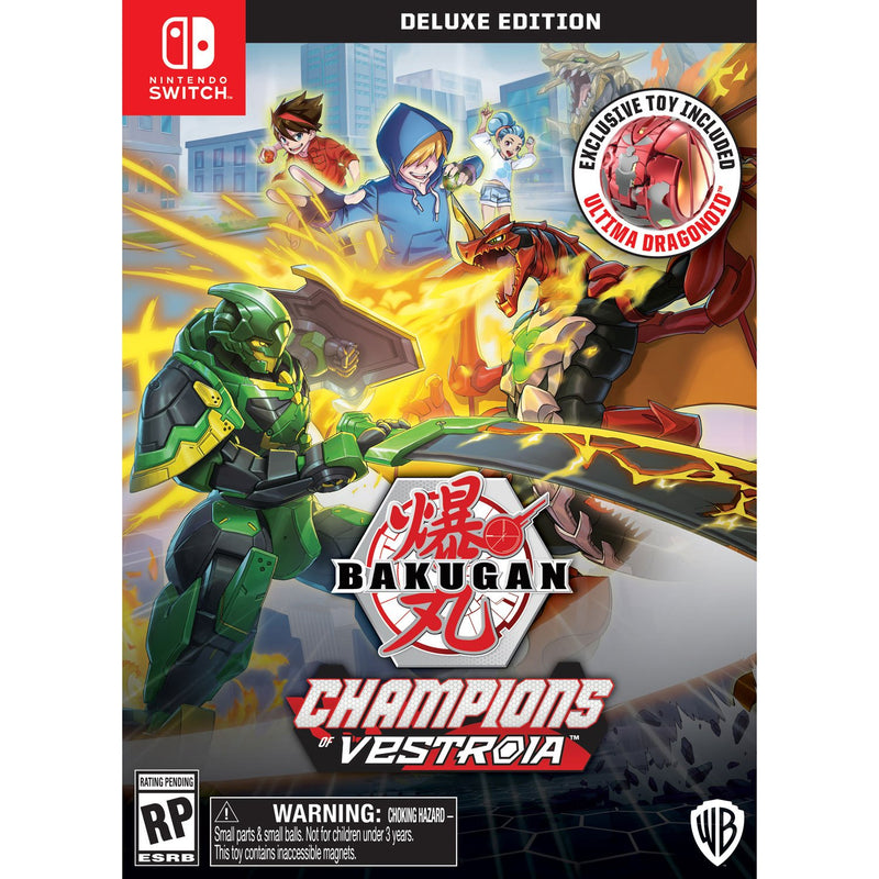 Bakugan: Champions of Vestroia Deluxe Edition (Switch) - Gaming Shop (5972594983079)