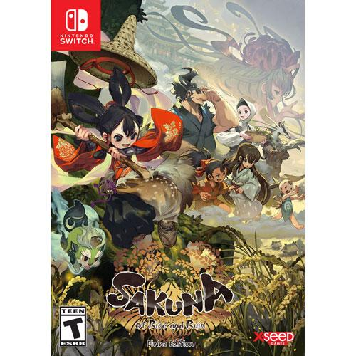 Sakuna: Of Rice and Ruin - Divine Edition (Switch) - English | Gaming Shop