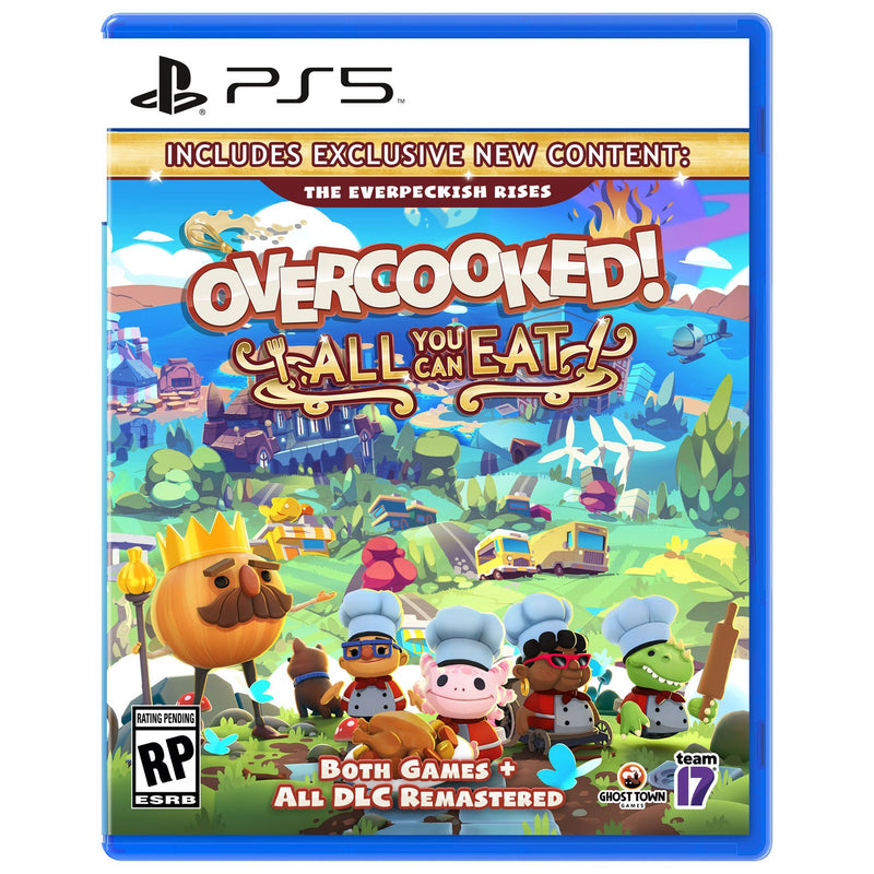 Overcooked! All You Can Eat (PS5) - Gaming Shop (5969832312999)