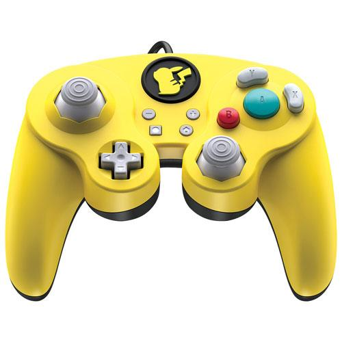 PDP Pikachu Wired Smash Pad Pro Controller for Switch - Yellow (6026490577063)