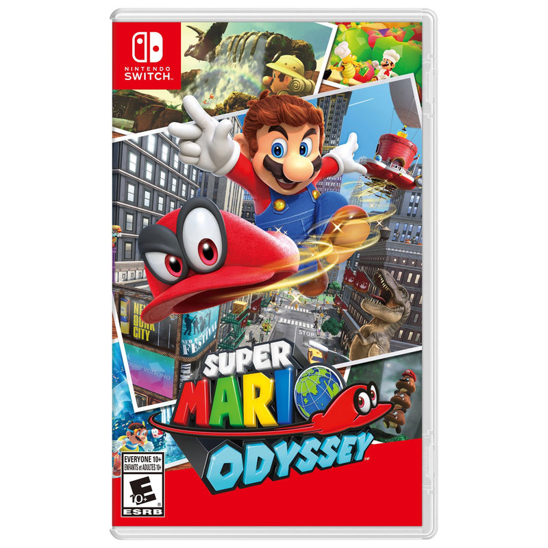 Super Mario Odyssey (Switch) - Gaming Shop (5883599192231)