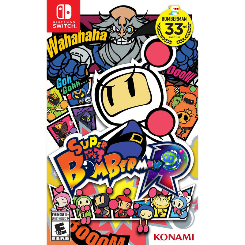 Super Bomberman R (Switch) - Gaming Shop (5969355276455)