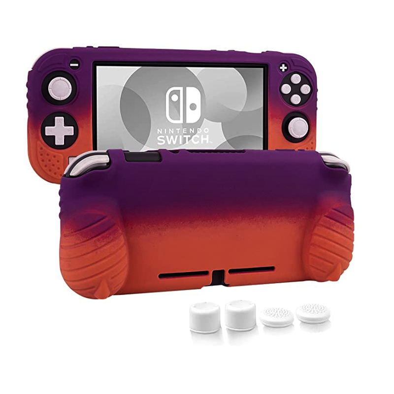 Skin Case and Thumb Grips for Nintendo Switch Lite 2019