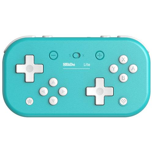 8Bitdo Switch Lite Bluetooth Gamepad - Turquoise | Gaming Shop