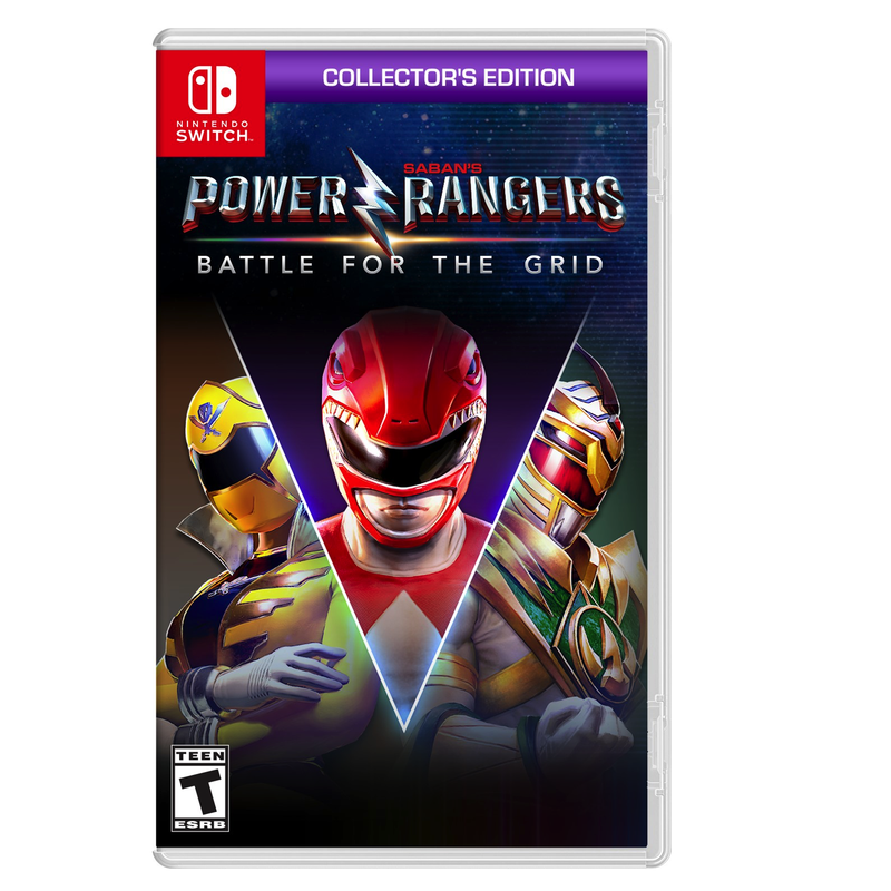 Power Rangers: Battle for the Grid Collector's Edition (Switch)