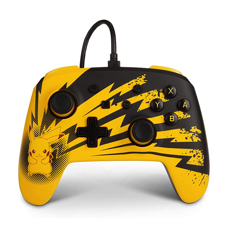 PowerA Pokemon Enhanced Wired Controller for Nintendo Switch - Pikachu Lightning