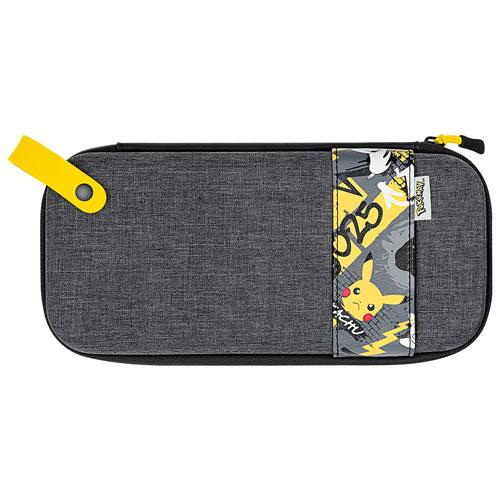 Nintendo Pokemon Deluxe Travel Case for Switch - Grey | Gaming Shop