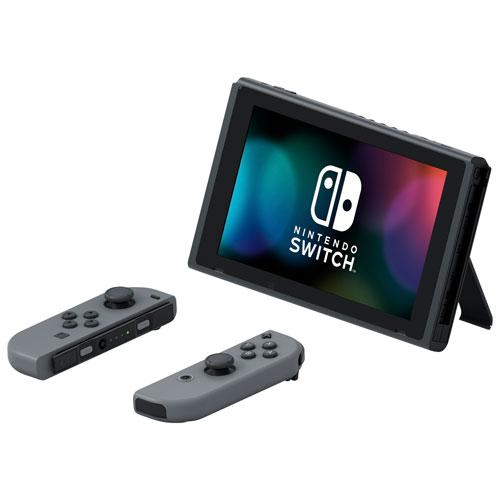 Nintendo Switch Console with Grey Joy-Con - Gaming Shop (5851793064103)