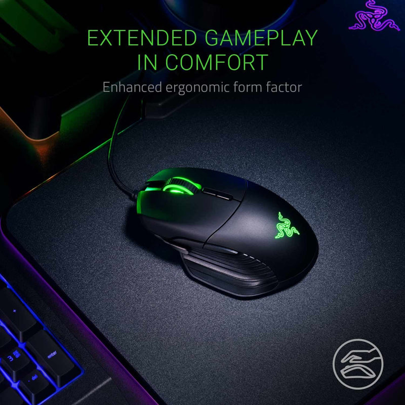 BASILISK MULTI-COLOR ERGONOMIC GAMING MOUSE PC