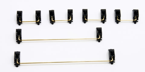 Authentic Cherry PCB / Plate Mount Gold Plated Stabilizers