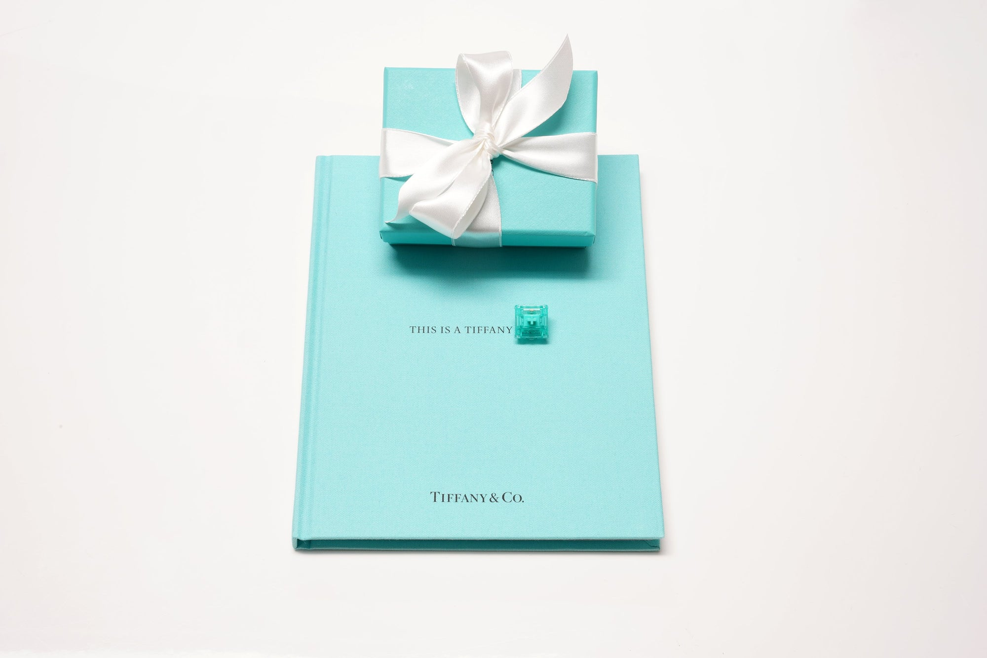 Tiffany Blue Book with Tiffany blue box