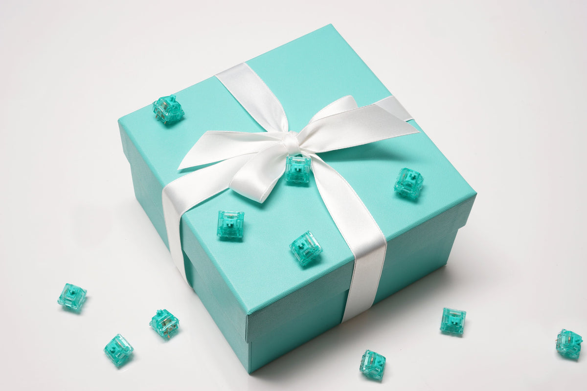Tiffany Blue Box with Tealios Switches