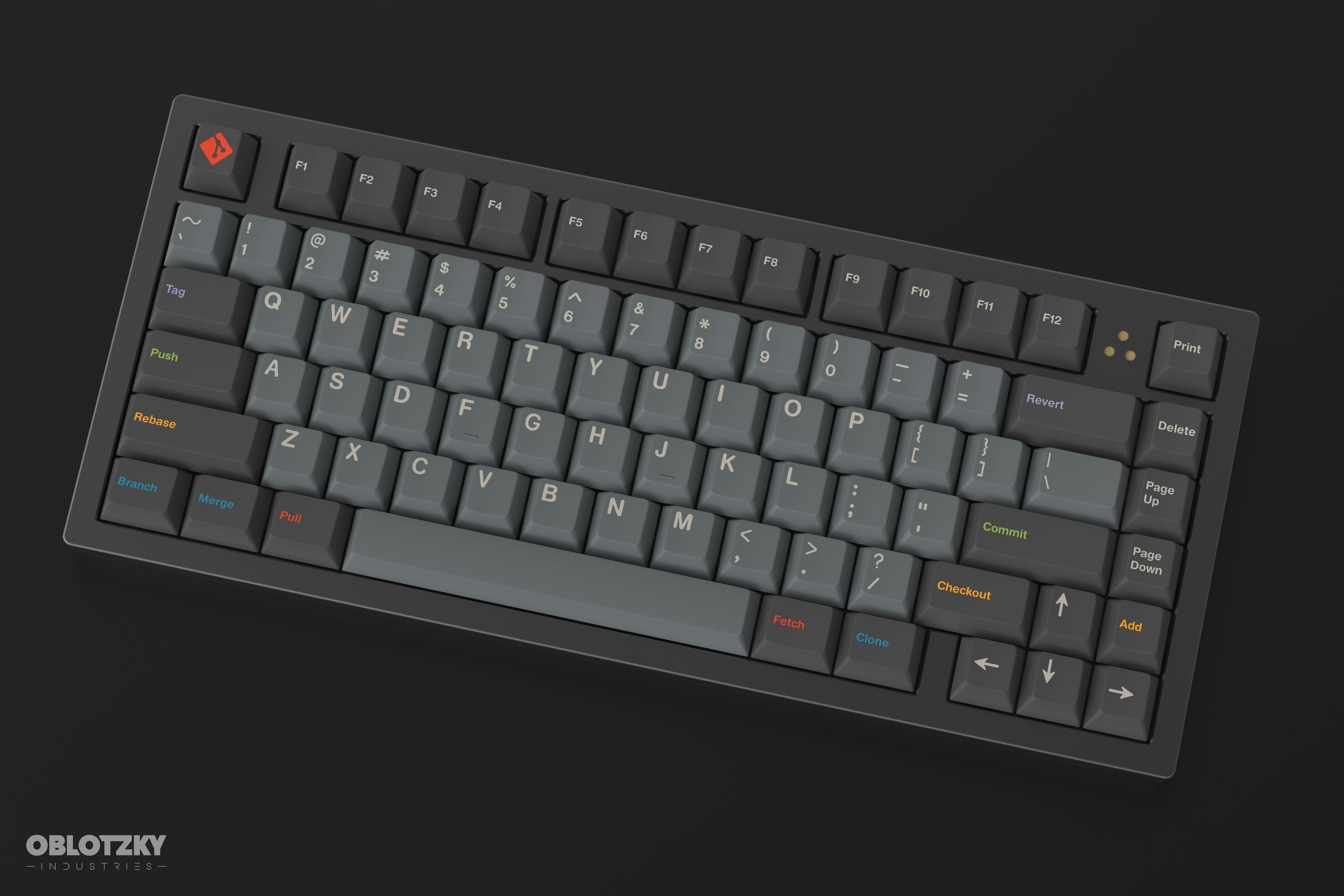 GB] XENO | 75% Custom Keyboard Kit (Half Plate) – Zeal