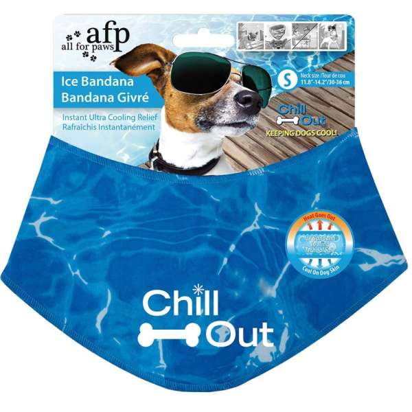 All for Paws Chill Out Ice Bandana- kühlendes Halstuch für Hunde - Trendant.de