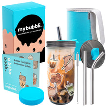 Load image into Gallery viewer, Reusable Boba Cup - The Complete Boba Tea Tumbler Kit
