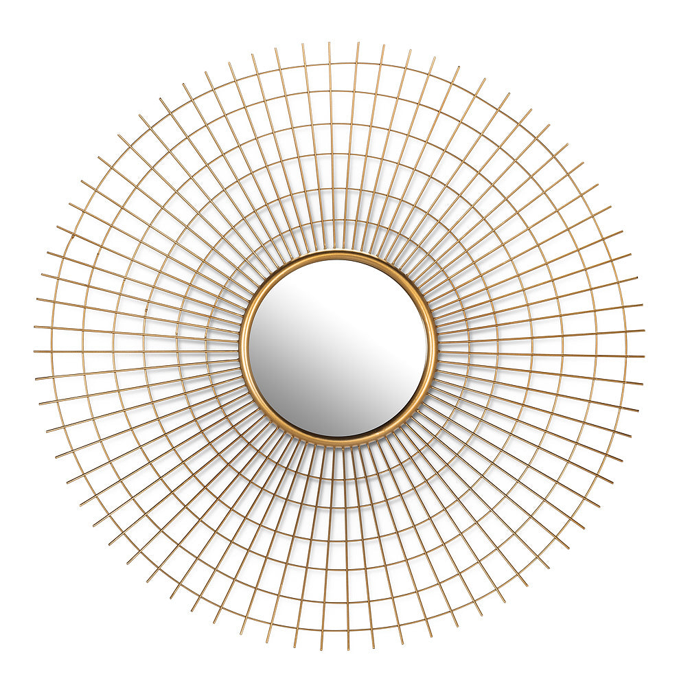 Large Woven Mirror