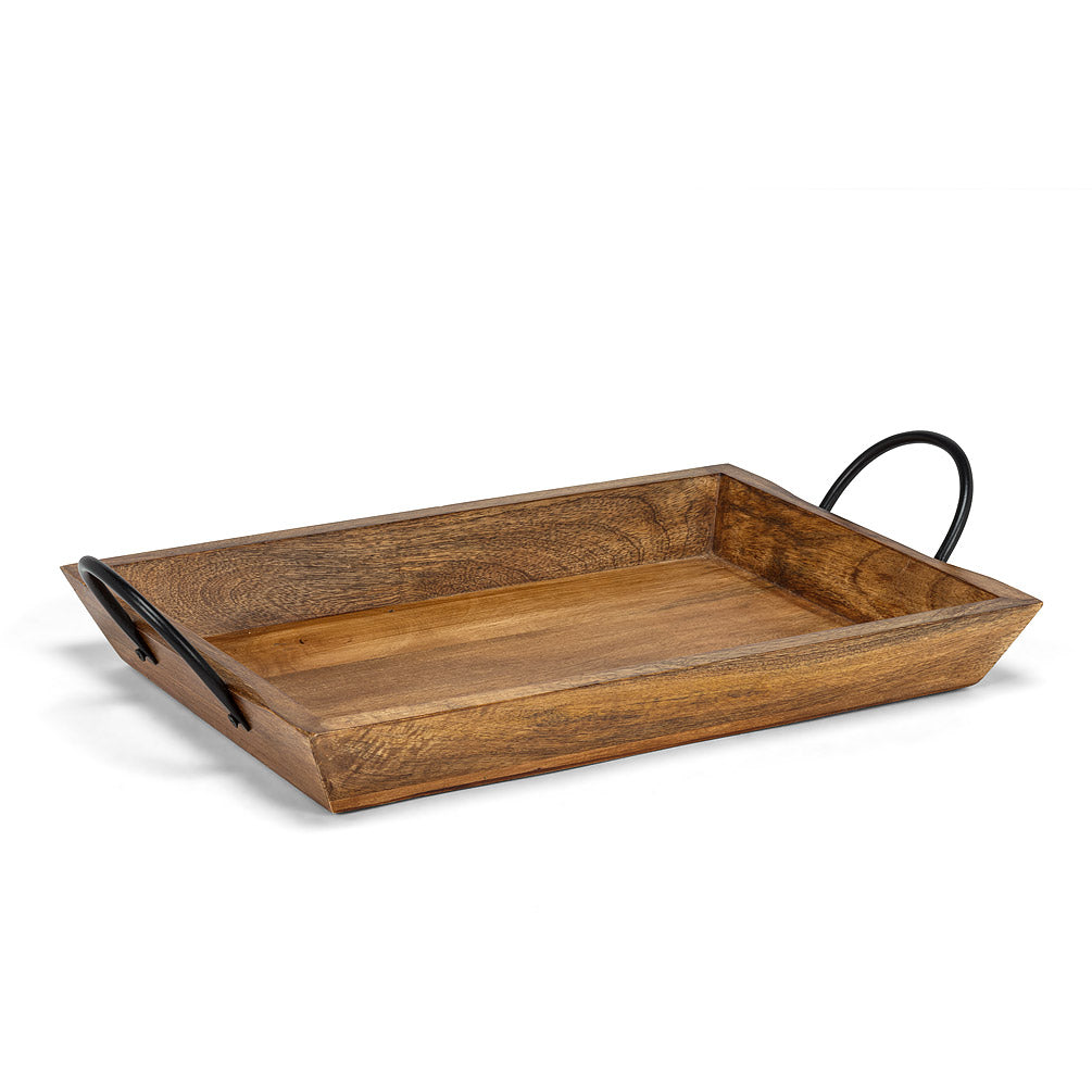 Large Rectangle Tray with Handles