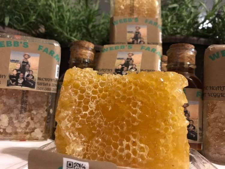 Raw Honey Combs