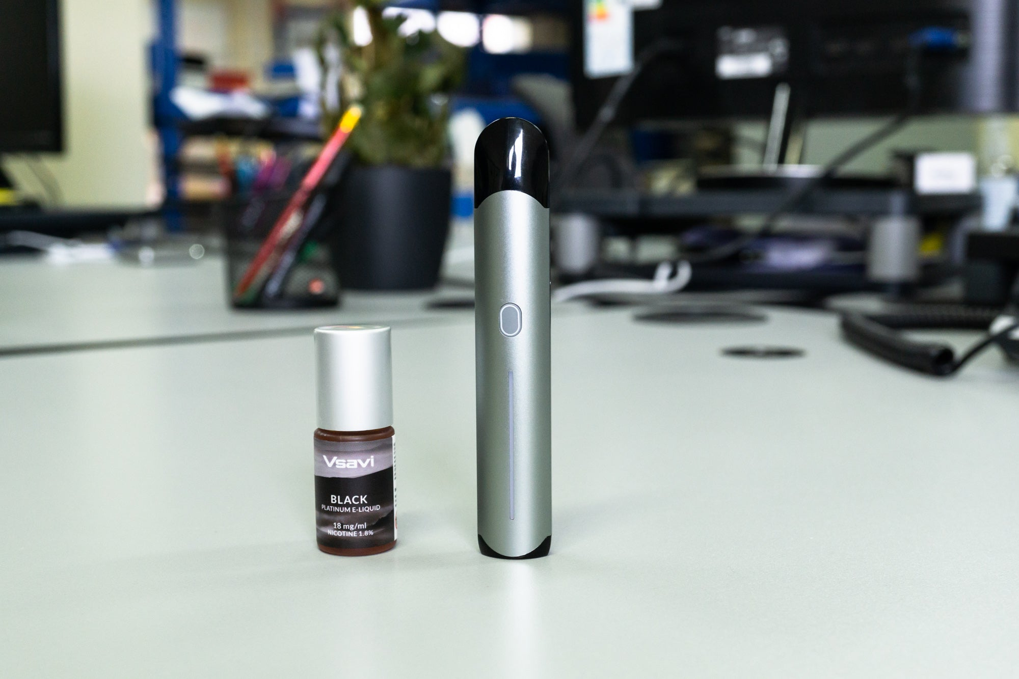 Hangsen iQ Touch and Platinum E-Liquid