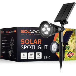 SOLVAO Solar Spotlight (4 LED)