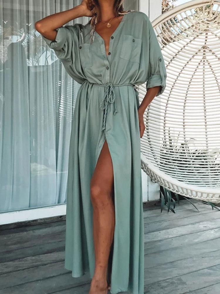 SEXY COTTON BEACH COVER-UP
