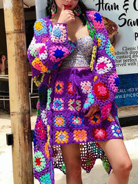 HANDMADE CROCHET BEACH COVER UP