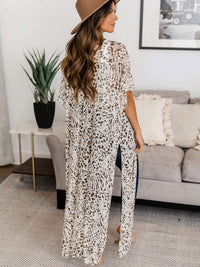 LEOPARD ROBES COVER-UPS