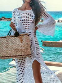 CROCHET TUNIC BEACH DRESS