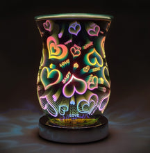 Load image into Gallery viewer, Touch Sensitive 3D Wax Melt Burner - Heart