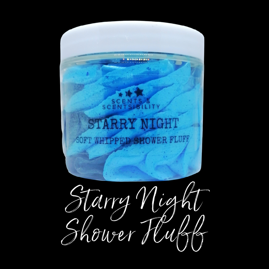 Starry Night Shower Fluff