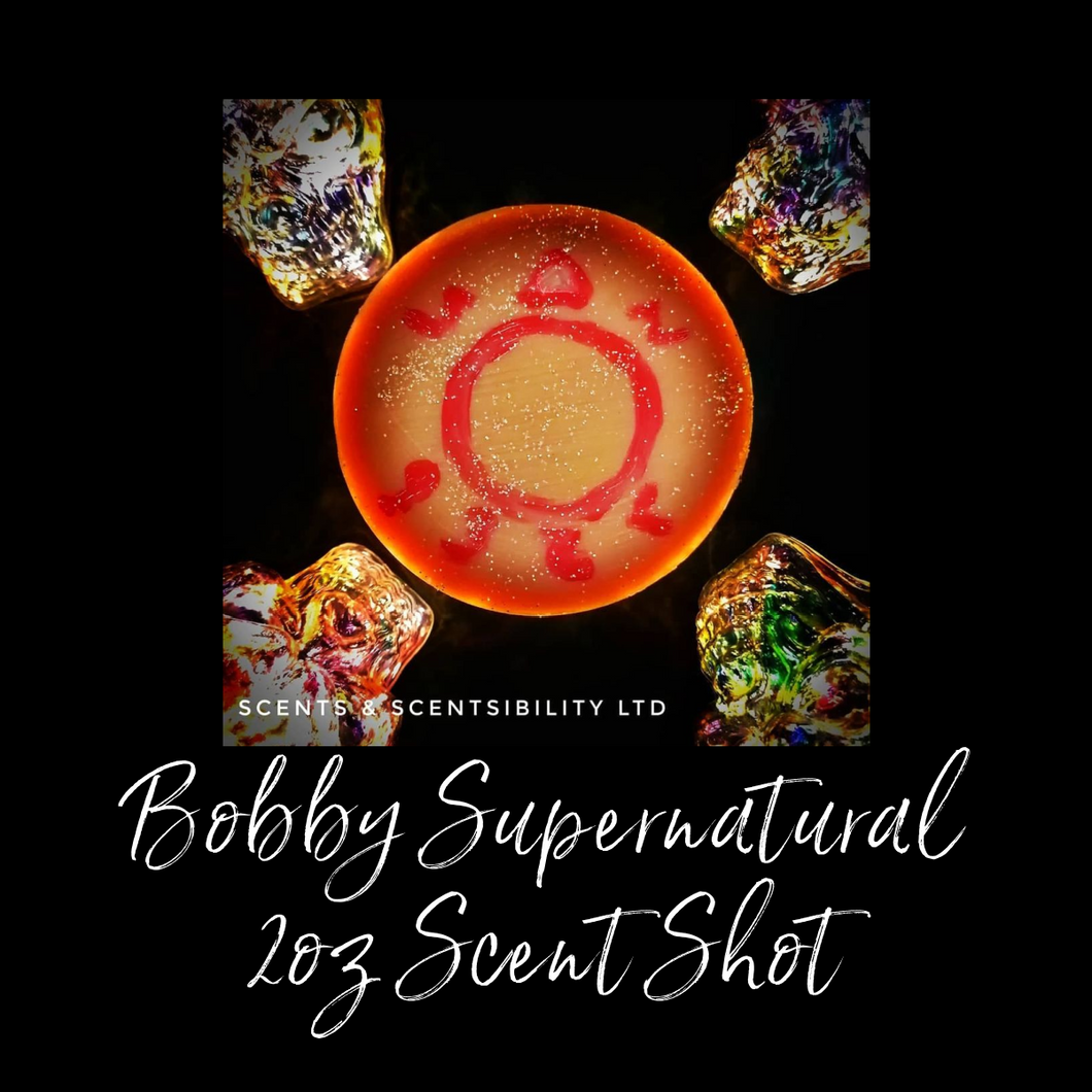 Bobby Supernatural 2oz Scent Shot