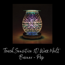 Load image into Gallery viewer, Touch Sensitive 3D Wax Melt Burner - Pop