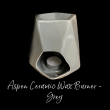 Load image into Gallery viewer, Aspen Ceramic Wax Burner - Grey