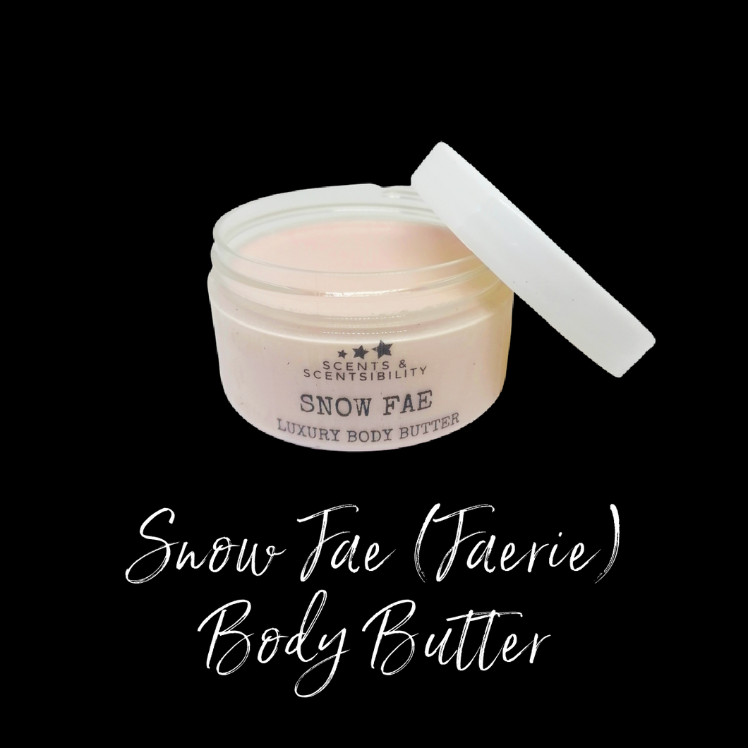 Snow Fae (Snow Faerie) Body Butter