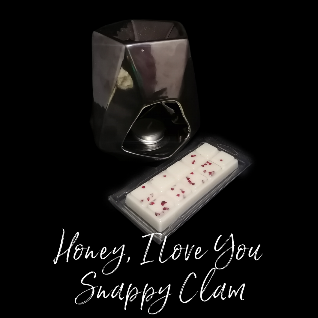 Honey, I Love U Snappy Clam