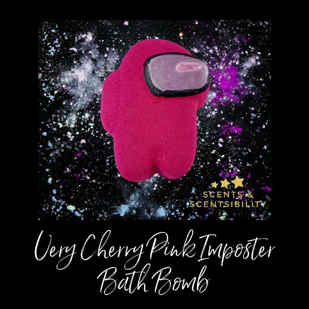 Very Cherry Pink Imposter Bath Bomb