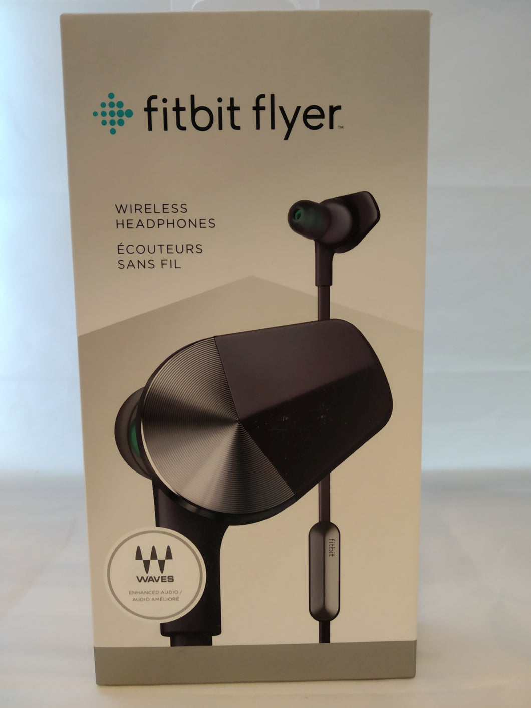 NEW Fitbit Flyer Wireless Bluetooth Headphones