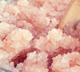 Pink Himalayan Salt Body Scrub with Argan and Shea Oils 2 oz
