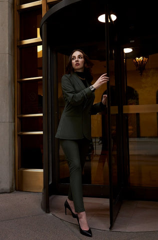 skinny trousers for women, office trousers for women, formal trousers for women | Le Reussi
