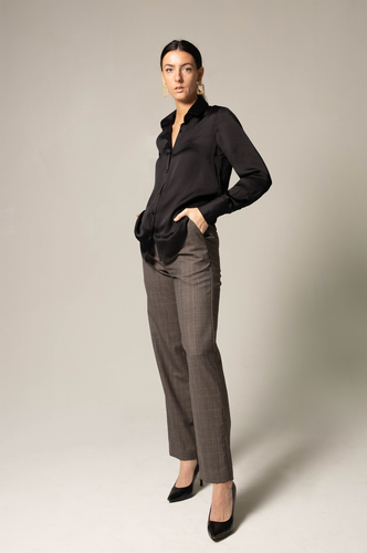 Straight-Leg Trousers - Le Réussi
