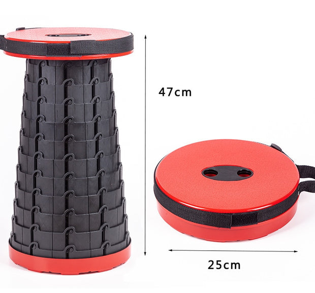 Easy to Carry Folding Collapsible Outdoor Stool - Peak Gear Co