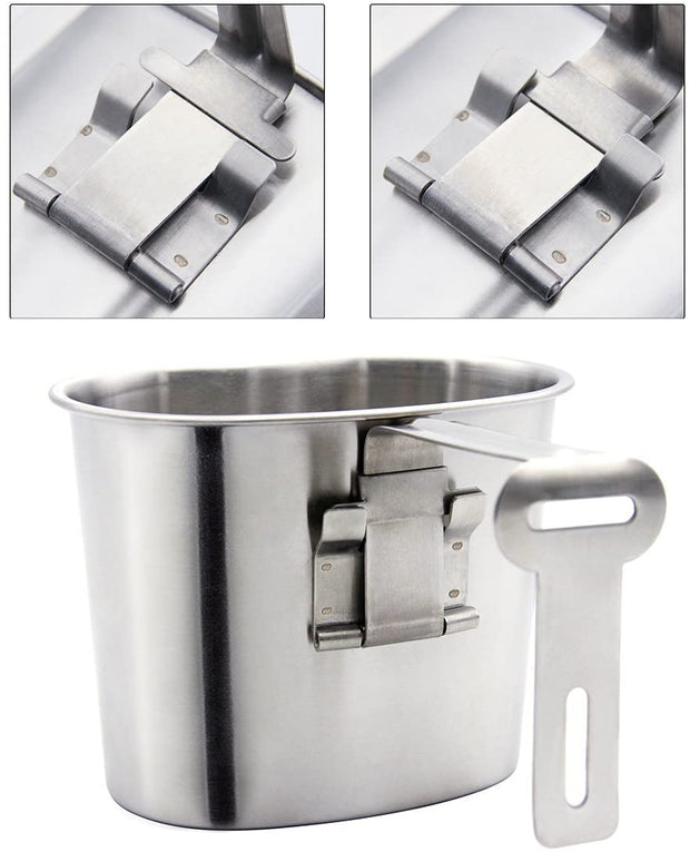 Stainless Steel Cup With Lid - Peak Gear Co